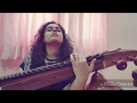 Malare Mounama - Veena Cover By Kharishma