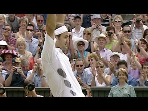 Federer v Philippoussis (2003 Men's Final) - Rolex Wimbledon Golden Moments