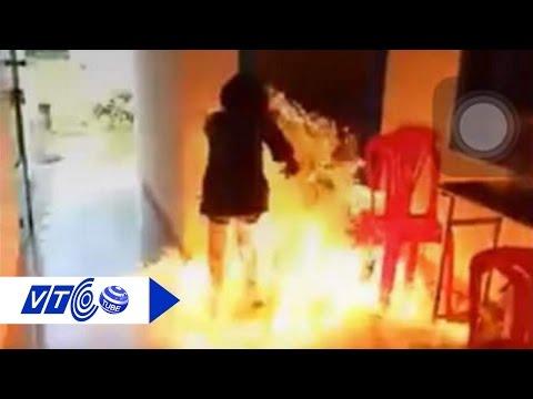 Like là làm: Nữ sinh đem xăng đốt trường | VTC