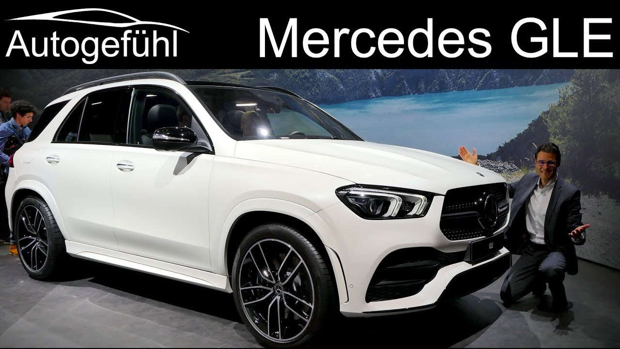 All-new Mercedes GLE Premiere REVIEW AMG-Line Exterior ...