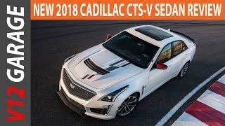 NEW 2018 Cadillac CTS-V Sedan Review and Changes