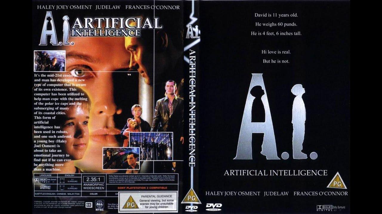 filme ai inteligencia artificial dublado portugues