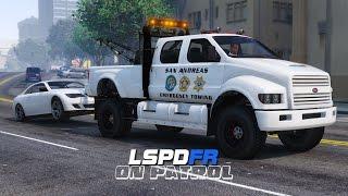 LSPDFR - Day 68 - Traffic Enforcement Towing Patrol