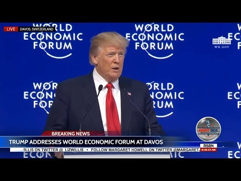 America Open for Business: President Trump FULL Davos Speech  1/26/18