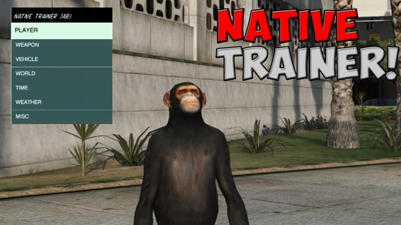 GTA 5 PC ONLINE - ScriptHookV Native Trainer!! (ShowCase) How to Install  (PC MODDING) (GTA V)