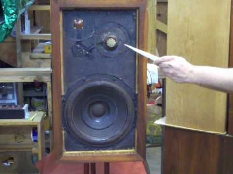 Acoustic Research Ar 3 Vintage Bookshelf Speaker Audition