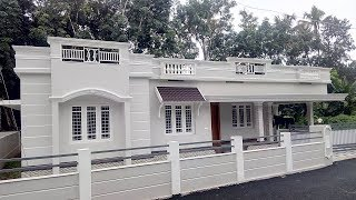 New House for Sale Kerala 43 Lakhs Only-6 cent 1300 sqft 3 bhk