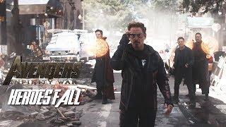 Avengers: infinity war || Heroes fall