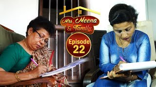 Mrs. Meena & Family - Konkani Serial│Episode 22│Daijiworld Television