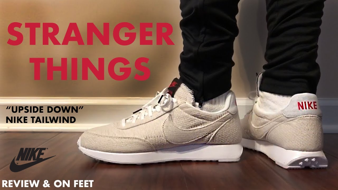 Frente Calendario computadora  Stranger Things Nike Air Tailwind 79 Upside Down Review and On Feet -  YouTube
