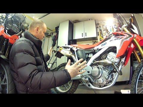 Honda CRF250L FMF Q4 Exhaust & Megabomb Install