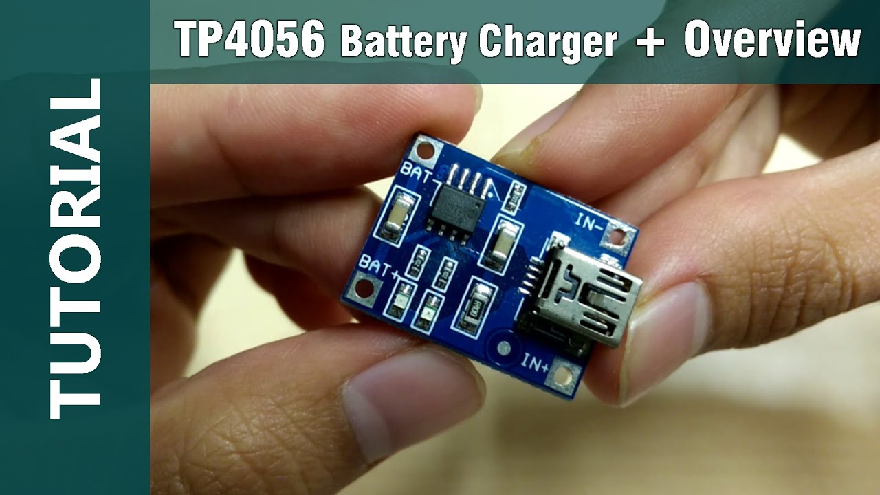 Tp4056 Lithium Cell Charger Module Mini Usb 5v 1a Overview