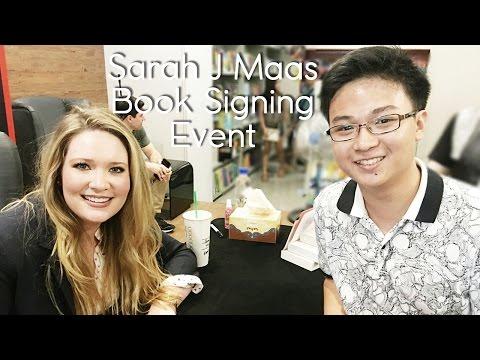 Sarah J Maas Book Signing Event in Manila #SarahJMaasinPH