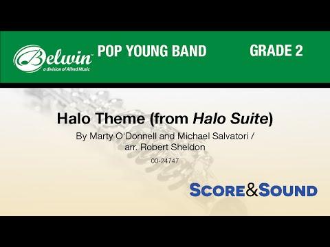 Halo Theme (from Halo Suite), arr. Robert Sheldon - Score & Sound