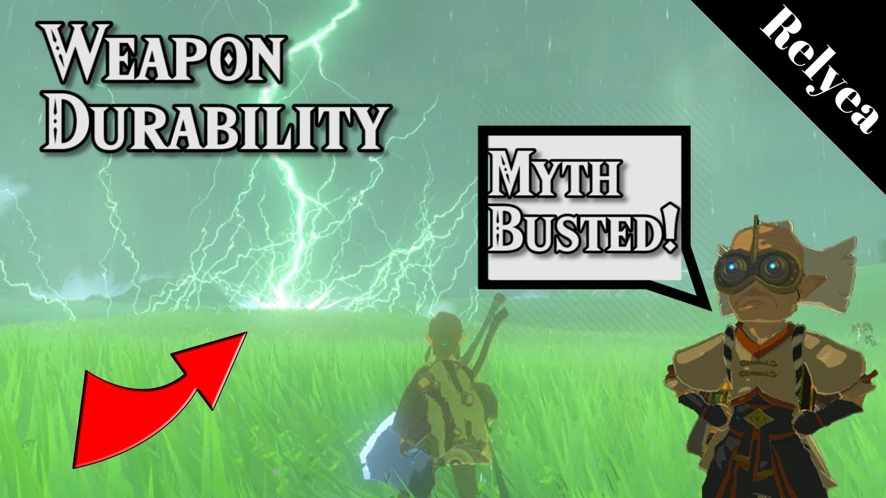 Reset Weapon Durability Myth Busters - Zelda Breath of the Wild