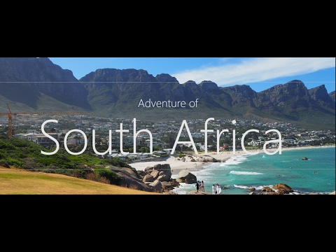 South Africa by drone, DJI Phantom 3 Professional