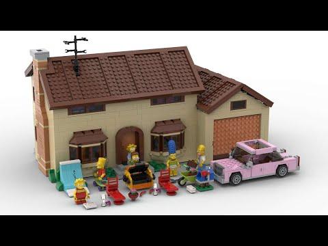 LEGO  THE SIMPSONS™ HOUSE 71006 LDD