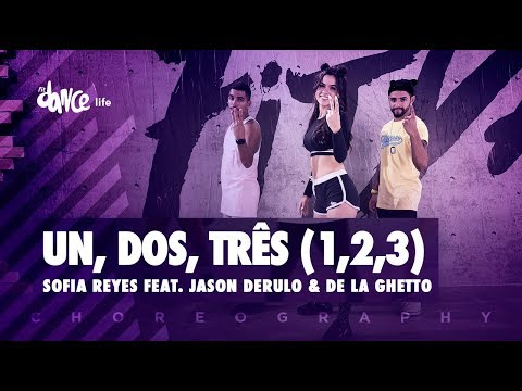 1, 2, 3 - Sofia Reyes Feat. Jason Derulo & De La Ghetto | FitDance Life (Coreografía) Dance Video