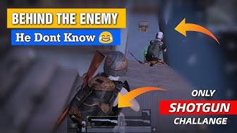 PUBG MOBILE: Only ShotGun Challange In pubg, Insane Fight With Shotgun | gamexpro