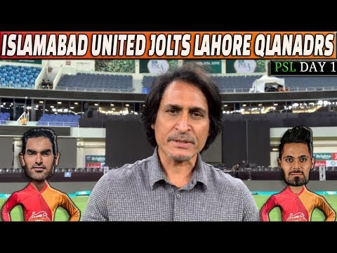 Islamabad United Jolts Lahore Qalandars | PSL Day 1 | Ramiz Speaks