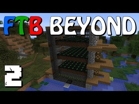 FTB Beyond #2 - Meet Sarah and a Witch Farm - Let's Play