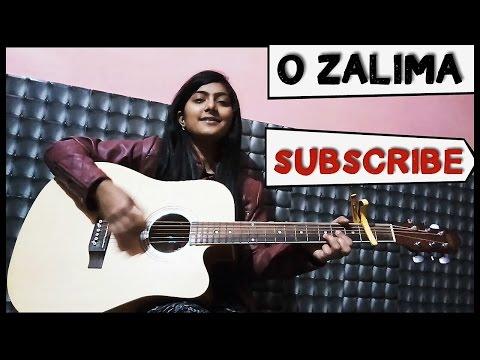 Zaalima   Raees   Guitar Chords   Female Cover   Shahrukh khan  Arijit singh