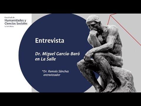 Entrevista al Dr Miguel García-Baró