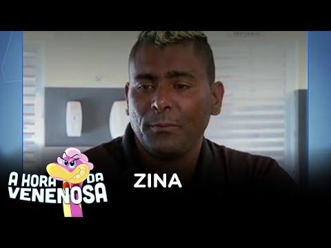 Ex-humorista Zina coloca fogo em clínica