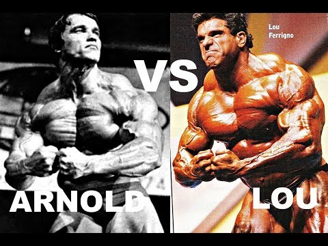 Arnold Schwarzenegger VS Lou Ferrigno