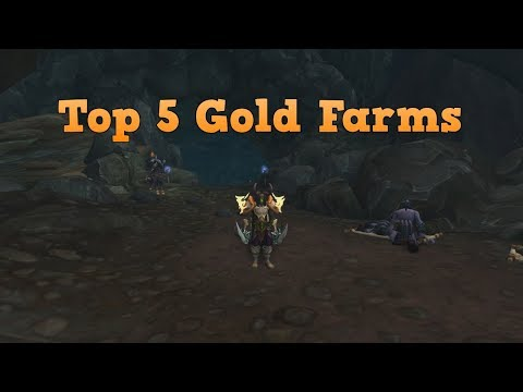 WoW Legion - My Top 5 Gold farms (Patch 7.3)