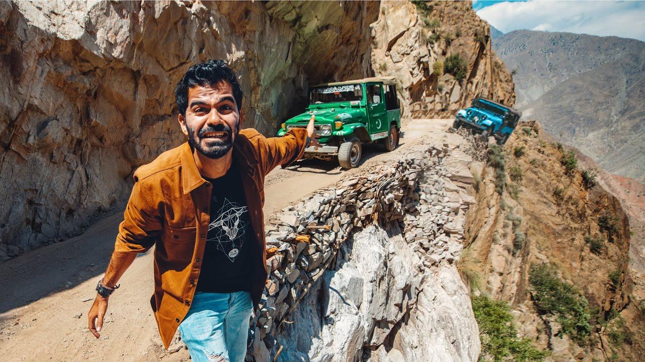 أخطر طريق في العالم !! شمال باكستان Pakistan ??
