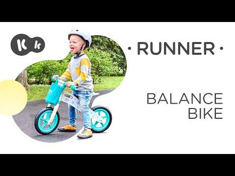 KinderKraft Колело за балансиране Runner Galaxy Синьо #-rFD8bPyH0w