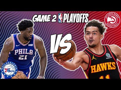 Philadelphia 76ers vs Atlanta Hawks Game 2 6/8/21 NBA Playoff Free NBA Pick & Prediction