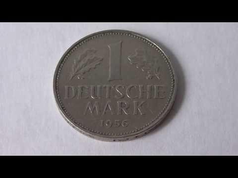 1 Deutsche Mark Germany 1956 F   Amazing Coin