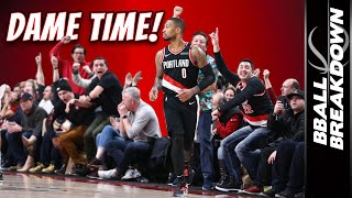 Damian Lillard ERUPTS For A Career High 61 In Overtime   NBA Highlights