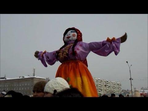 2018-02-18 Масленица-2018 Mardi Gras in Bratsk Siberia Russia