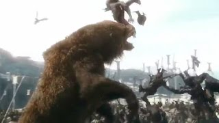Beorn Fighting Scene - The Hobbit: The Battle Of The Five Armies - Extended Edition (2015)