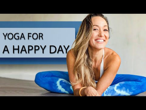 Yoga For A Happy Day — One Hour Class