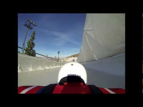 Skeleton: Head First On Ice At Over 125kph & 5g