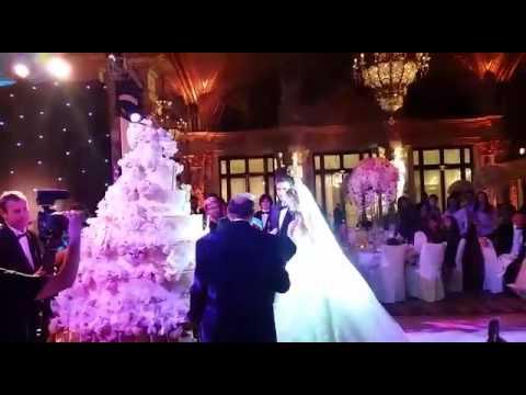 свадьба дочери бажаева фото видео