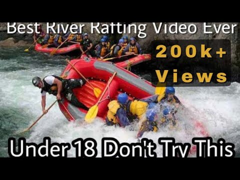 Best River Rafting India Ever Rishikesh WhiteWater | Uncut All 13 Rapids | Body Surfing | Cliff Jump