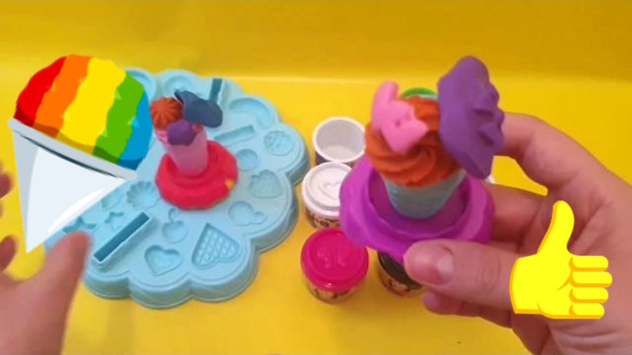 Play Doh Knet Küche Compilation Play Doh Play Set Cookies And Ice Cream Learn How To Diy