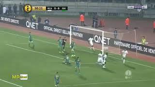 أهداف مباراة الرجاء البيضاوي ضد شبيبة القبائل (2-0)  RCA vs JSK
