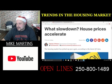 TRENDS IN THE HOUSING MARKET - DECEMBER 7TH 2017 - OPEN LINES