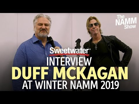 Duff McKagan Interview at Winter NAMM 2019