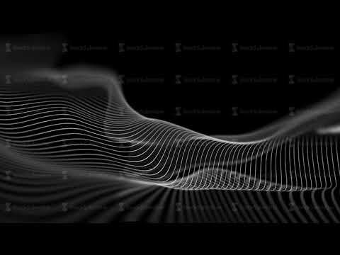 Digital technology animation. Blur technology background digital wave. Seamless loop 4k.