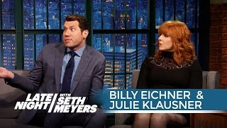 Billy Eichner and Julie Klausner Talk Working with Seth and Amy Poehler on Difficult People