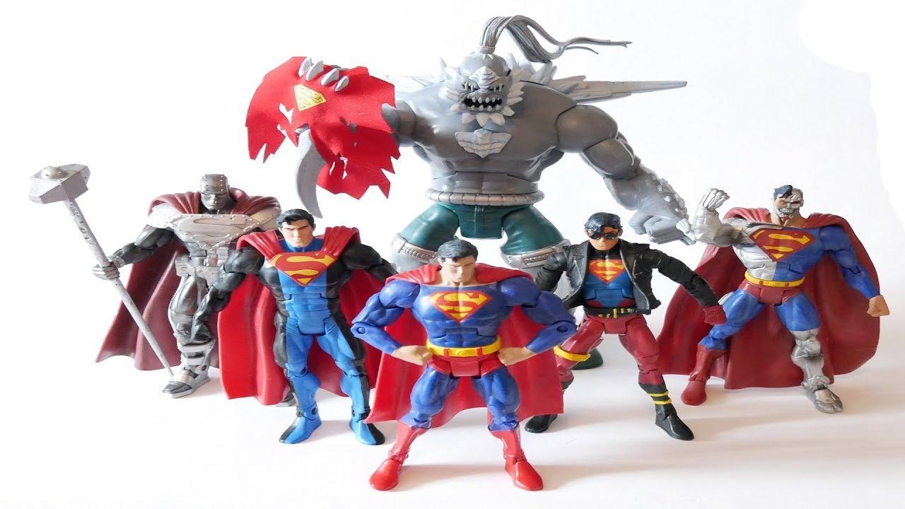 Dc Universe Classics Doomsday Unleashed Mattel Superman Villain Toy Action Figure Youtube
