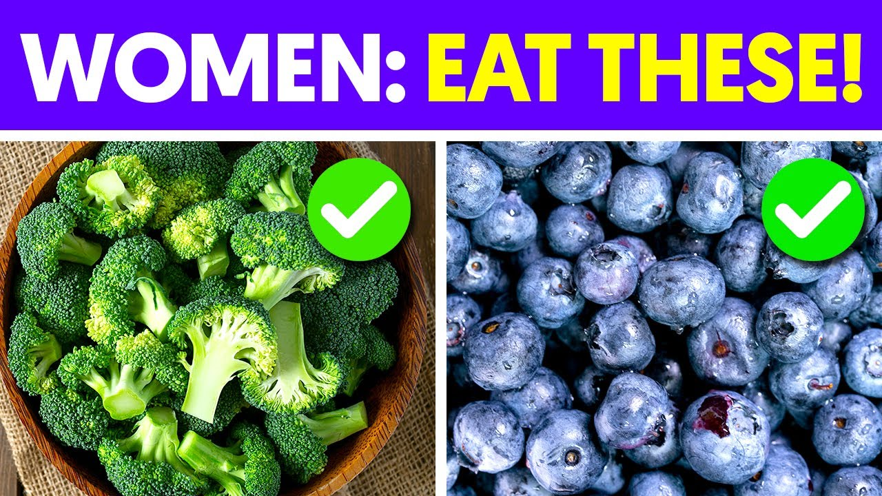 These 5 Foods are a Must for Women's Health