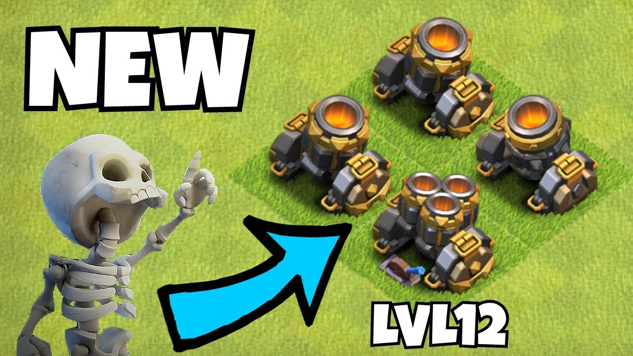 new mortar spells and changes clash of clans new. Black Bedroom Furniture Sets. Home Design Ideas